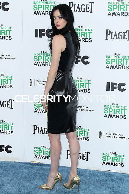 SANTA MONICA, CA, USA - MARCH 01: Krysten Ritter at the 2014 Film Independent Spirit Awards held at Santa Monica Beach on March 1, 2014 in Santa Monica, California, United States. (Photo by Xavier Collin/Celebrity Monitor)