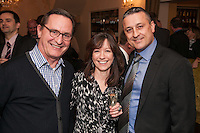 From left are `Jaap Piersma, Michelle Stevenson and James Amos