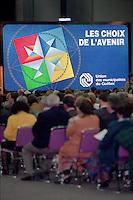 Montreal (qc) CANADA - file Photo - 1992 - <br /> Union des Municipalites du Quebec convention in April -