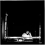 A DJ in the nightclub Duivel in Amsterdam.  Europe before the euro.