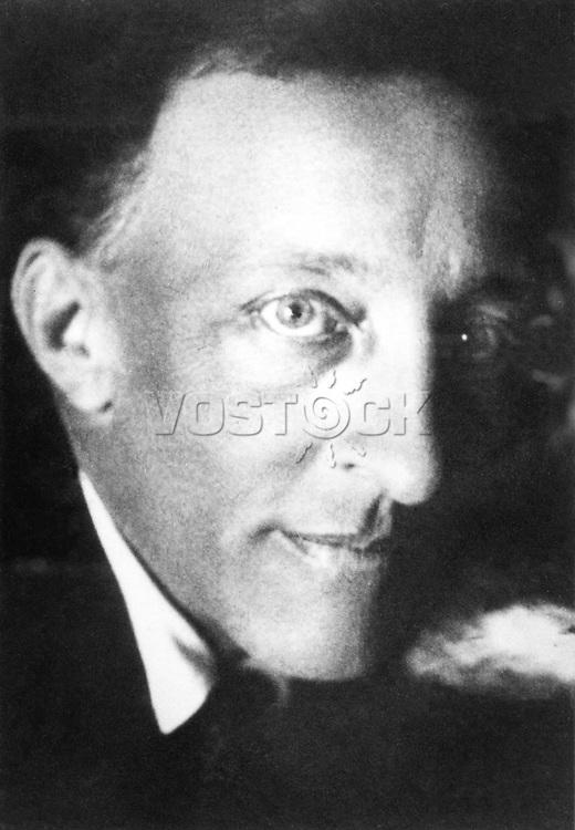 Александр Блок - русский поэт Серебряного века. / Aleksandr Blok - influential russian poet.