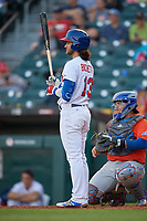 Buffalo Bisons Bo Bichette (13) bats during an International League game against the Syracuse Mets on June 29, 2019 at Sahlen Field in Buffalo, New York.  Buffalo defeated Syracuse 9-3.  (Mike Janes/Four Seam Images)