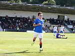 17.07.2021 Rangers B v Bo'ness Utd: Tony Weston scores for Rangers and celebrates