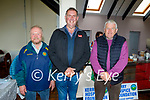 Attending the Blennerville Car and Tractor Run fundraiser for Kerry Hospice on Sunday, l to r:  Tony Hehir (Ballyheigue), John Kerins (Tralee) and Jackie O'Connor (Scartaglin).