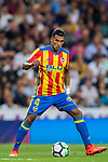 Jeison Fabian Murillo of Valencia CF in action during their La Liga 2017-18 match between Real Madrid and Valencia CF at the Estadio Santiago Bernabeu on 27 August 2017 in Madrid, Spain. Photo by Diego Gonzalez / Power Sport Images