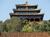 Jingshan-Hügel, Peking, China, Asien<br /> Jingshan hill, Beijing, China, Asia