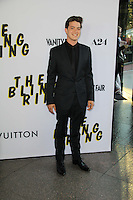 LOS ANGELES, CA - JUNE 04: Israel Broussard arrives at the 'The Bling Ring' - Los Angeles Premiere at Directors Guild Of America on June 4, 2013 in Los Angeles, California. (Photo by Celebrity Monitor)