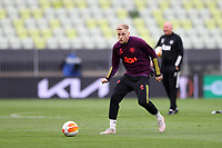 25th May 2021; Gdansk, Poland; Manchester United training at the Stadion Energa Gdańsk prior to their Europa League final versus Villarreal on May 26th;  DONNY VAN DE BEEK