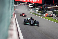 28th August 2021; Spa Francorchamps, Stavelot, Belgium: FIA F1 Grand Prix of Belgium, qualifying sessions;  44 HAMILTON Lewis gbr, Mercedes AMG F1 GP W12 E Performance