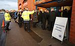 Shareholders arrive for the Rangers AGM