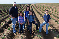 Reed family potato farmers