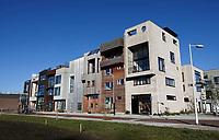 Nederland  Amsterdam -  2020.   Amsterdam-Noord.  Buiksloterham.Nieuwbouw naar eigen ontwerp.  Foto : ANP/ HH / Berlinda van Dam