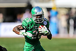 North Texas Mean Green running back Jeffrey Wilson (26) in action during the Zaxby's Heart of Dallas Bowl game between the Army Black Knights and the North Texas Mean Green at the Cotton Bowl Stadium in Dallas, Texas.