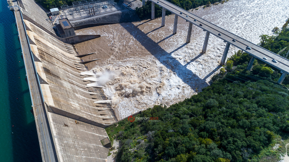 Mansfield Dam (formerly Marshall Ford Dam) is a dam located across a canyon at Marshall Ford on the Colorado River, 13 miles (21 km) northwest of Austin, Texas.