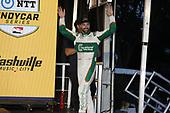 #29: James Hinchcliffe, Andretti Steinbrenner Autosport Honda   podium