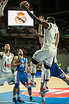 Real Madrid´s K.C. Rivers 2014-15 Euroleague Basketball match between Real Madrid and Anadolu Efes at Palacio de los Deportes stadium in Madrid, Spain. December 18, 2014. (ALTERPHOTOS/Luis Fernandez)