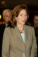 Queen  Noor of Jordania at  12TH INTERNATIONAL ECONOMIC FORUM OF THE AMERICAS CONFERENCE<br />                OF MONTREAL<br /> Photo by Michel Karpoff / Images Distribution