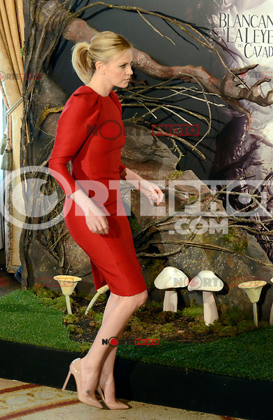 Charlize Theron asiste al photocall de la pelicula 'Blancanieves y la Leyenda del Cazador' en la Casa America de Madrid.             ---------------------------- Charlize Theron attends the photocall of the movie 'Snow White and the Huntsman' at the Casa America in Madrid *NortePhoto*<br />
