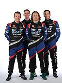 #57 Heinricher Racing w/MSR Curb-Agajanian Acura NSX GT3, GTD: Alvaro Parente, Misha Goikhberg, Trent Hindman, AJ Allmendinger portrait