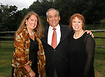 WOODBURY, CT- 08 September 2012 090812JW07 - Connecticut Summer Opera Foundation secretary Karen Reddington-Hughes, President Vincent de Luise M.D., and Vice-President Carole Winer pose for a photo during the Litchfield Hills Food, Wine, and Opera Gala at the Country Loft Saturday evening..Jonathan Wilcox Republican American..