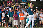 Justin Rose of England hits the ball during Hong Kong Open golf tournament at the Fanling golf course on 24 October 2015 in Hong Kong, China. Photo by Aitor Alcade / Power Sport Images