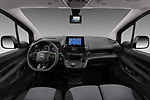 Stock photo of straight dashboard view of 2020 Citroen Berlingo - 4 Door Car Van Dashboard