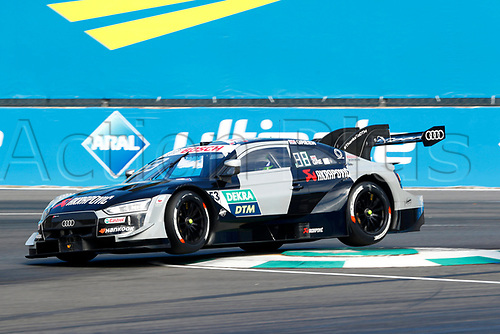 23rd August 2020, Lausitz Circuit, Klettwitz, Brandenburg, Germany. The Deutsche Tourenwagen Masters (DTM) race at Lausitz;  Jamie Green GBR, Audi Team Rosberg, Audi RS5 DTM