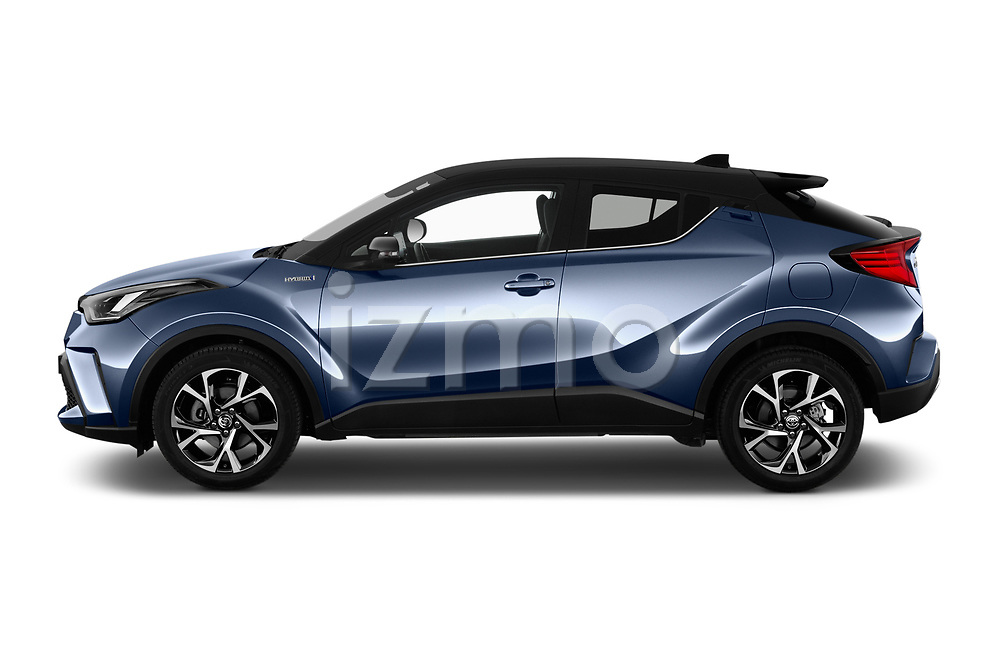 Car driver side profile view of a 2020 Toyota C-HR Club 5 Door SUV
