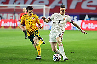 24th March 2021; Leuven, Belgium; Thomas Vermaelen of Belgium during the World Cup Qatar 2022 Qualifiers Match between Belgium and Wales on March 24, 2021 in Leuven, Belgium