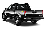 Car pictures of rear three quarter view of 2016 Nissan Frontier PRO-4X-Crew-Cab 4 Door Pickup Angular Rear