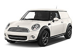 2014 MINI MINI COOPER CLUBVAN 5 Door Wagon 2WD Angular Front stock photos of front three quarter view