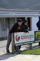 Fans watch the Wellington Rugby Union Paris Memorial Trophy Colts rugby match between Upper Hutt Rams and Northern United Blue at Maoribank Park in Upper Hutt, New Zealand on Saturday, 8 August 2020. Photo: Dave Lintott / lintottphoto.co.nz