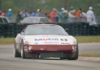 The #93 Chevrolet Corvette of Jim Minneker, Ron Nelson, Andy Pilgrim and Boris Said races to a 15th place finish in the 12 Hours of Sebring, Sebring International Raceway, Sebring, FL, March 20, 1993.  (Photo by Brian Cleary/www.bcpix.com)