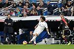 (L to R) Real Madrid's coach Santiago Solari, Marcelo Vieira and Rayo Vallecano's Tito Roman during La Liga match. December,15,2018. (ALTERPHOTOS/Alconada)