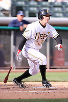 April 27, 2009:  Reggie Willits of the Salt Lake Bees, Pacific Cost League Triple A affiliate of the Los Angeles (Anaheim) Angles, during a game at the Spring Mobile Ballpark in Salt Lake City, UT.  Photo by:  Matthew Sauk/Four Seam Images