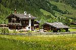 Oesterreich, Salzburger Land, Pinzgau, Raurisertal: Bauernhaus im Raurisertal   Austria, Salzburger Land, region Pinzgau, Rauris Valley: farmhouse at Rauris Valley