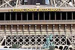 exterior, Eiffel Tower Restaurant, Las Vegas, Nevada