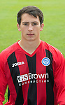 St Johnstone FC 2013-14<br /> Robbie Norrie<br /> Picture by Graeme Hart.<br /> Copyright Perthshire Picture Agency<br /> Tel: 01738 623350  Mobile: 07990 594431