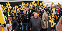 Photo: Richard Lane/Richard Lane Photography. Exeter Chiefs v Wasps. Aviva Premiership Semi Final. 21/05/2016.  Wasps supporters.