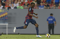 Tampa, FL - July 12, 2017: Gyasi Zardes The USMNT (USA) defeated Martinique (MAR) 3-2 in a 2017 Gold Cup group stage match at Raymond James Stadium.