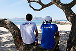 Rio de Janeiro Olympic Test Event - Fédération Française de Voile. 2015 Aquece RSXM, LeCoq.