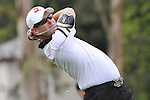 Feb 22, 2009: Rory Sabbatini on tee #17 at the Northern Trust Open 2009 in the Pacific Palisades, California.
