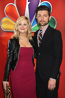 Amy Poehler and Adam Scott at NBC's Upfront Presentation at Radio City Music Hall on May 14, 2012 in New York City. ©RW/MediaPunch Inc.