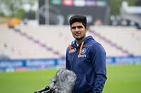 Shubman Gill, India during India vs New Zealand, ICC World Test Championship Final Cricket at The Hampshire Bowl on 20th June 2021
