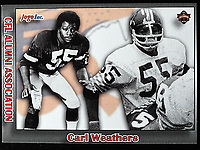 Carl Weathers-JOGO Alumni cards-photo: Scott Grant