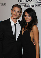 13 July 2020 - Naya Rivera, the actress best known for playing cheerleader Santana Lopez on Glee, has been confirmed dead. Rivera, 33, is believed to have drowned while swimming in the lake with her 4-year-old son, who was found asleep on their rental pontoon boat after it was overdue for return. 31 October 2014 - Los Angeles, California - Ryan Dorsey, Naya Rivera. UNICEF's Next Generation Presents 2nd Annual UNICEF Masquerade Ball Held at The Masonic Lodge at Hollywood Forever. Photo Credit: F.Sadou/AdMedia