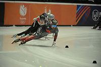 SPEEDSKATING: DORDRECHT: 05-03-2021, ISU World Short Track Speedskating Championships, Heats 500m Men, Charles Hamelin (CAN), ©photo Martin de Jong