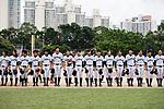 Japan Team during the BFA Women's Baseball Asian Cup match between Japan and Hong Kong at Sai Tso Wan Recreation Ground on September 5, 2017 in Hong Kong. Photo by Marcio Rodrigo Machado / Power Sport Images