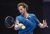 Rotterdam, Netherlands, December 14, 2016, Topsportcentrum, Lotto NK Tennis,   RJasper Smit (NED)<br /> Photo: Tennisimages/Henk Koster