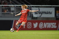 Boyds, MD - Saturday September 23, 2017: Tori Huster during a regular season National Women's Soccer League (NWSL) match between the Washington Spirit and the Boston Breakers at Maureen Hendricks Field, Maryland SoccerPlex.